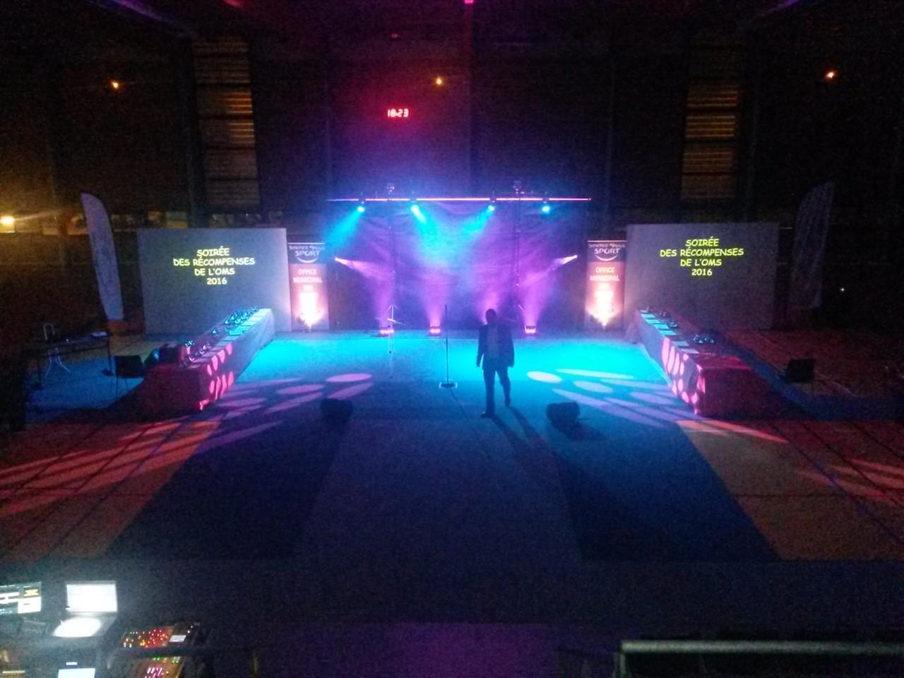 Son, Eclairage & Vidéo, Solarine event's (Photo des réglages vidéos)